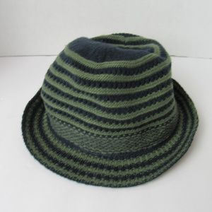 Accessories - NWT Adjustable Fit Striped Hat Navy Blue/Green